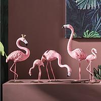 Mô hình trang tri hồng hạc