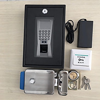 Bộ khóa cổng và kiểm soát cửa vân tay - thẻ từ SG18