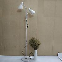 Đèn cây đứng 2 nhánh kiểu mới FULL BOX - Kèm bóng 2 LED cao cấp