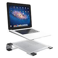 Đế tản nhiệt nhôm cho laptop, MacBook NB15