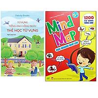 Combo Mind Map - Sơ Đồ Tư Duy 1200 Từ Vựng Tiếng Anh Cho Bé Với 35 Chủ Đề+Level 1: Thẻ Học Từ Vựng - Từ Vựng Tiếng Anh Hằng Ngày