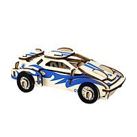 Đồ chơi gỗ lắp ghép 3D- mô hình small car- cắt laser