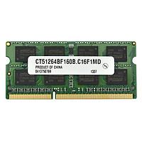 RAM Laptop Crucial 4GB DDR3L Bus 1600MHz - Hàng Nhập Khẩu