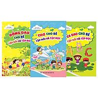 Combo 3 cuốn Thơ - Ca dao - Đồng dao cho bé tập nói - tập đọc