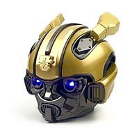 Loa Bluetooth GUTEK Siêu Bass Bumblebee Transformer, Mắt Có Đèn Led Xanh, Thiết Kế Độc, Loa Nghe Nhạc Cầm Tay Không Dây Âm Thanh Hay Nghe Nhạc Trong, Màu Vàng Đặc Trung Của Siêu Robot Bee - Hàng Chính Hãng