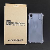 Ốp lưng chống sốc dẻo trong suốt dùng cho iphone XR ( Dày 1,5mm) - Hàng chính hãng