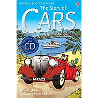 Usborne English Learners' Editions: The Story of Cars + CD