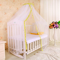 Baby Infant Nursery Mosquito Bedding Crib Canopy Net Hanging Babe Dome Summer