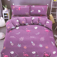 Bộ drap cotton thái lan Cotton House (5 món) CH5TDB005