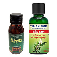 Combo Tinh Dầu Tràm Bảo Linh Và Dầu Xoa Bóp Bách Linh Tiêu Thống