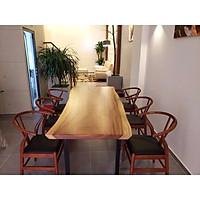Bộ bàn gỗ me tây 6 ghế