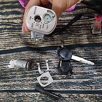 Ổ khóa xe Vision đời từ 2011 đến 2013, Khóa điện được dùng bằng hợp kim kẽm ZZN - G2804