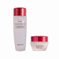 Combo dưỡng trắng chống lão hóa da 3W Clinic (Kem dưỡng trắng sáng tái tạo da 60 ml 3W Clinic + Nước hoa hồng tái tạo da 3W Clinic 150 ml)
