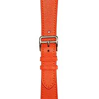 Dây đeo đồng hồ 22-18 MM chính hãng HANHSON SP000599 ALRAN Đỏ Cam cho Apple Watch