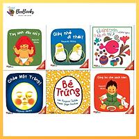 Bộ Sách Ehon bé trứng dành cho bé từ 0-3 tuổi- Ehon Nhật Bản nuôi dưỡng tâm hồn bé
