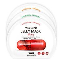 Mặt nạ Banobagi Vita Genic Lifting Jelly Mask Màu Đỏ ( 1 miếng )