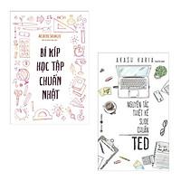 Combo Sách Hấp Dẫn: Bí Kíp Học Tập Chuẩn Nhật + Nguyên Tắc Thiết Kế Slide Chuẩn Ted (Bộ Cẩm Nang Đạt 99.9% Hiệu Suất Trong Công Việc Và Học Tập)