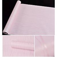 Combo 10m giấy dán tường nền hồng sọc