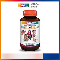 Viên Kẹo Nhai Dành Cho Trẻ Em Bổ Sung Vitamin Tổng Hợp Và Khoáng Chất Holistic Way ( 60 Viên)