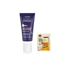 Gel dưỡng ẩm, cung cấp năng lượng cho da Eau Thermale Jonzac MEN Anti-Fatigue Energizing Gel 50ml + tặng kèm 1 mặt nạ mắt Mediheal