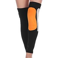 Winter Warm Knee Brace Pads Long Knee Sleeve Thermal Leg Warmer Sports Knee   Support