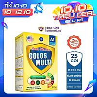 Sữa bột Colosmulti A1 hộp 25 gói x 14g tăng sức đề kháng cho trẻ