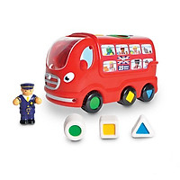 Đồ chơi xe buýt Luân Đôn-Leo WOW Toys của Anh