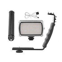 Light Handle Bracket For DJI Osmo Mobile 2/3 120 LEDs Dimmable Video Vimble Vlog Fill Light Photography