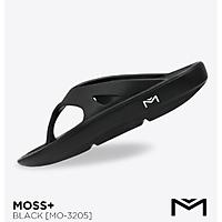 Dép xỏ ngón Domba Moss+ Đen (BLACK) MO-3205