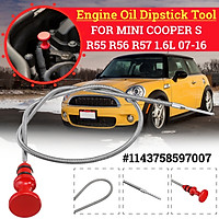 Engine Oil Dipstick Tool For BMW MINI COOPER S R55 R56 R57 Countryman Paceman Roadster Clubman 1.6L 2007-2016 #1143758597007