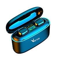 TWS VINETTEAM Bluetooth Không Dây 5.0 Tai Nghe G5S Thể Thao Tai Nghe Cảm Ứng 9D Tai Nghe Stereo Nhét Tai 3500 MAh Sạc -Tích Hợp Micro - Tự Động Kết Nối- Tương Thích Với Tất Cả Điện Thoại- Hàng Nhập Khẩu
