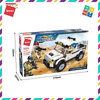 Bộ Đồ Chơi Xếp Hình Thông Minh Lego Quân Sự Qman 3201 Xe Bán Tải 129 Chi Tiết Cho Trẻ Từ 6 Tuổi
