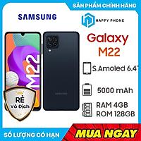 Điện thoại Samsung Galaxy M22 (4GB/128GB) - Hàng chính hãng - Đã KICH HOẠT BẢO HÀNH ĐIỆN TỬ