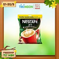 [Chỉ giao HN] Cà phê rang xay hòa tan Nescafé 3in1 đậm vị cà phê (Bịch 46 gói x 17g)