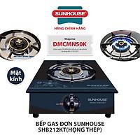 Bếp Gas Dương Đơn Mặt Kính Sunhouse SHB212KT - Hàng chính hãng