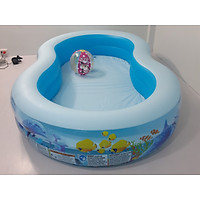 Bể bơi phao cho bé và gia đình KT 262*157*46cm , tặng bơm điện 2 chiều cao cấp
