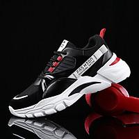 Giày thể thao sneaker nam cổ thấp, giày đế tăng chiều cao mẫu mới XSP344