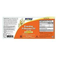 Viên Uống Now Từ Dầu Hoa Anh Thảo (Evening Primrose Oil) 500mg + GLA Tự Nhiên (Gamma-Linolenic Acid)