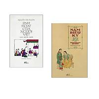 Combo 2 cuốn sách: Nam Biều Ký - An Nam Qua Du Ký Của Thủy Thủ Nhật Bản Cuối Thế Kỷ XVIII + Sinh Hoạt Của Người Việt (Bìa Cứng)