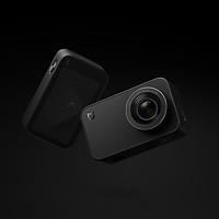 Camera hành động Xiaomi MI Action 4K Bản quốc tế sở hữu kiểu dáng thời trang, hiện đại với thiết kế dạng khối chữ nhật - Hàng chính hãng