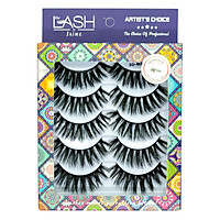 5 Cặp Hộp 5 Cặp Lông Mi Lụa 3DM08/Pretty Sunny Multi-Pack The Lash by J'aime
