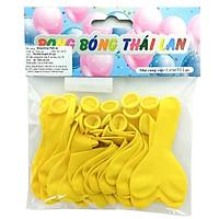 Bong Bóng Thái Lan 1 Màu Nhỏ - Màu Vàng