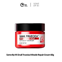 Kem dưỡng ẩm tái tạo săn chắc tái tạo da sẹo lõm da mụn some by mi snail truecica miracle repair cream 60g