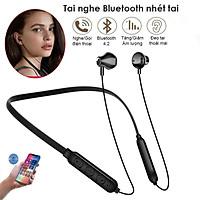 Tai Nghe Không Dây Bluetooth Nhét Tai Không Thấm Nước Earbuds Với Mic Tai Nghe Thể Thao - Hàng Chính Hãng