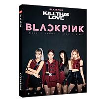 Bộ ảnh Blackpink Kill this love có poster Blackpink Blink
