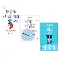 Combo Sách Kỹ Năng Sống Hay:  Khi Bạn Đang Mơ, Người Khác Đang Nỗ Lực + Bạn Có Phải Cá Hồi Chum Không? + Dũng Cảm Tiến Lên - ( Tặng Kèm Bookmark Thiết Kế AHA )
