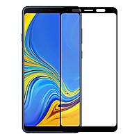 Kính Cường Lực Cho Samsung Galaxy A9 2018 - Màu Đen - Full Màn Hình - Hàng Chính Hãng