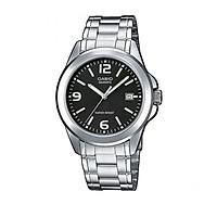 Đồng hồ nam dây thép không gỉ Casio MTP-1215A-1ADF