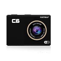 Camera Hành Trình ghi hình Ô tô VietMap C6 ( Phát WiFi + Sim 4G)  + Tặng thẻ Nhớ 32G - Hàng chính hãng
