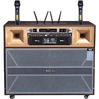 Loa tủ loa kéo di động karaoke RSX - 604  BellPlus (Hàng chính hãng)